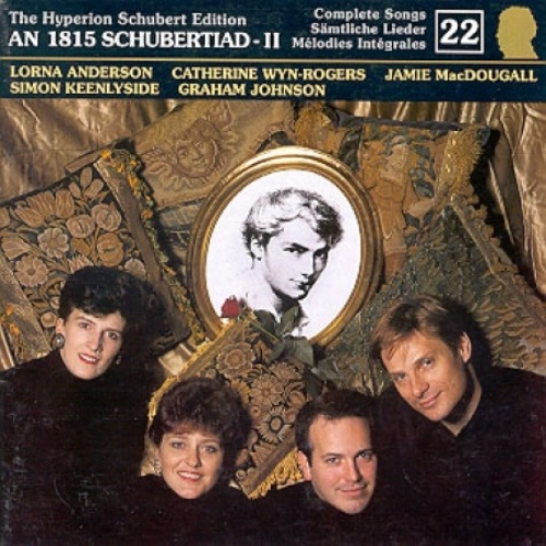 SCHUBERT - LIEDER, EDITION VOL.22