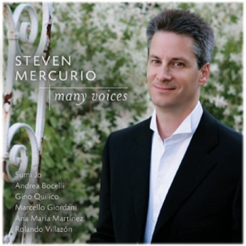 STEVEN MERCURIO - MANY VOICES