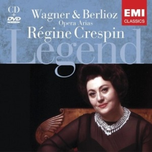REGINE CRESPIN (LEGEND) - WAGNER / BERLIOZ OPERA ARIAS (CD+DVD) (2 FOR 1)
