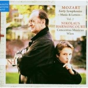 MOZART - EARLY SYMPHONIES VOL.2 (LETTERS)