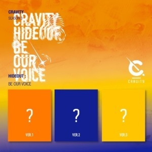 CRAVITY (크래비티) - CRAVITY SEASON3. [HIDEOUT: BE OUR VOICE] (커버 3종, 랜덤)